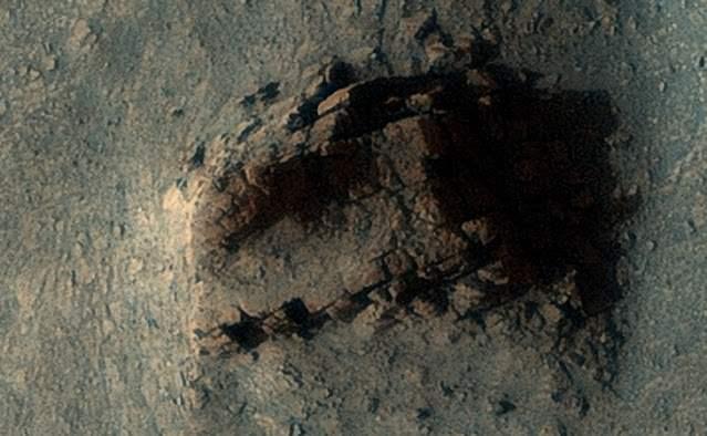 Руины, Марс, фото NASA.