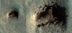 Древние руины, найденные на Марсе, кажутся разбросанными из-за катастрофы, поразившей регион в прошлом