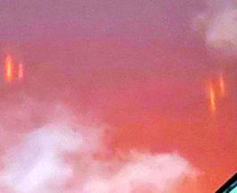 свечение в небе мексика