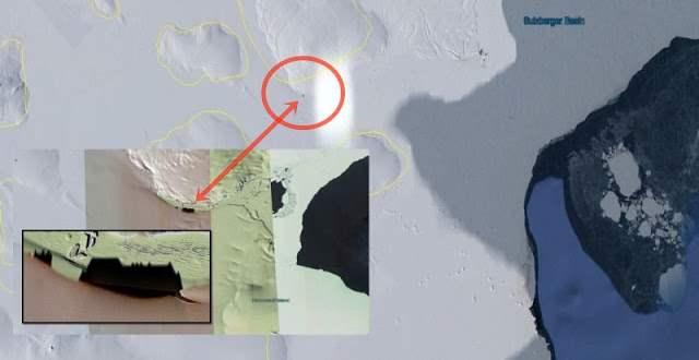 тень замка антарктида