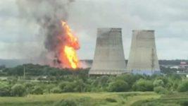 ядерный объект пожар