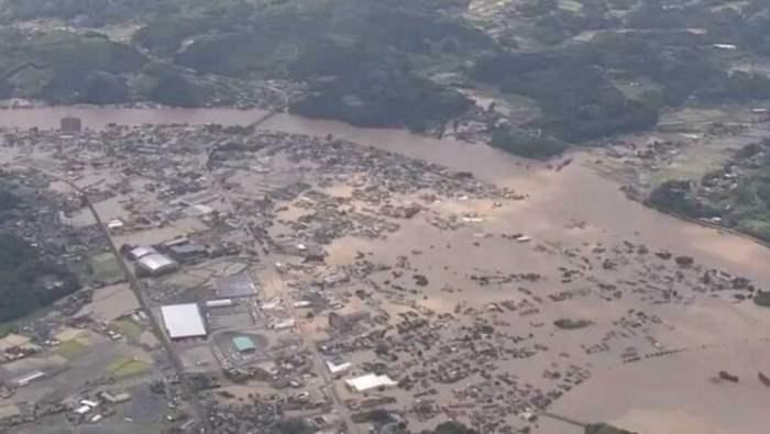 япония наводнения