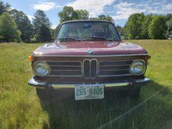 1973 BMW 2002tii выставлена на аукцион. Последняя ставка — 5000$