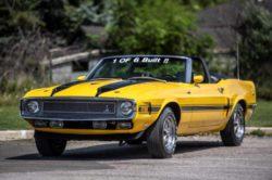 Редкий Shelby Mustang GT500 1970 года продается на аукционе