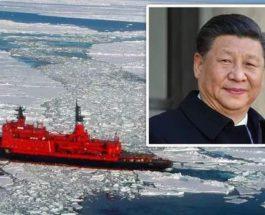 Китай,Антарктида,