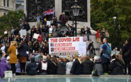 Лондон,протесты,Берлин,Франция,COVID-19,коронавирус,