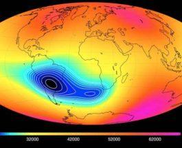 НАСА,магнитная аномалия,