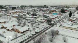 австралия снегопад
