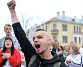 беларусь протесты в минске