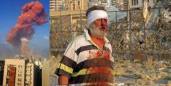 В порту Бейрута произошел сильный взрыв (ФОТО и ВИДЕО)