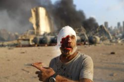 Последняя информация: В Бейруте из-за взрыва погибло более 100 человек и 4000 ранено