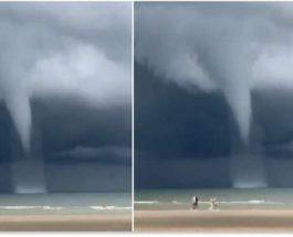 водный торнадо бельгия