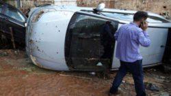 По меньшей мере семь человек погибли после шторма на греческом острове Эвиа