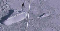 В Антарктиде нашли ледяной «корабль» с помощью карт Google Earth