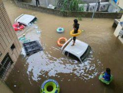 40 ДНЕЙ ДОЖДЯ. В результате наводнения в Южной Корее 30 человек погибли.