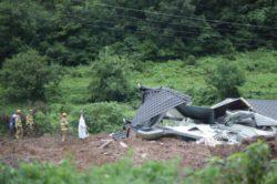 В результате оползня погибли четверо южнокорейцев