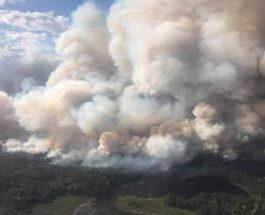 пожары канада