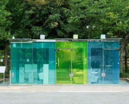 прозрачные туалеты