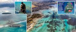Маврикий пострадал от разлива нефти, объявлено чрезвычайное экологическое положение (ФОТО)