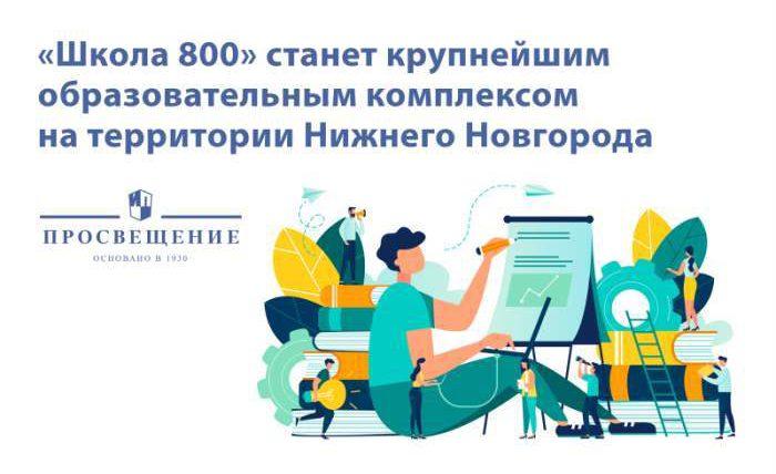 школа 800