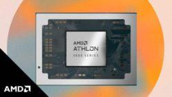 AMD запускает два процессора для ноутбуков начального уровня
