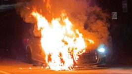 AUDI RS3,тормоза,пожар,