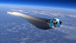 Новый сверхзвуковой самолет Virgin Galactic долетит из Лондона в Нью-Йорк за 90 минут