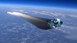 Virgin Galactic,сверхзвуковой самолет,
