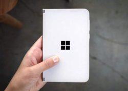 Смартфон Surface Duo с двумя экранами стоит 1400 долларов