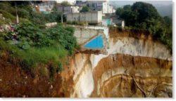 25000 пострадавших от проливных дождей, наводнений и оползней по всей Гватемале — 6 дюймов дождя за 24 часа