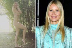 Пошлая: Гвинет Пэлтроу сфотографировалась полностью обнаженной на свое 48-летие