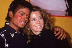 Джейн Фонда призналась, что купалась голой с Майклом Джексоном