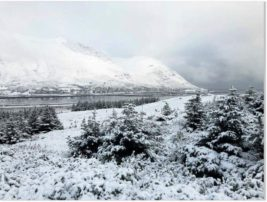 Исландия,снег,