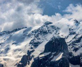 Италия,ледник,