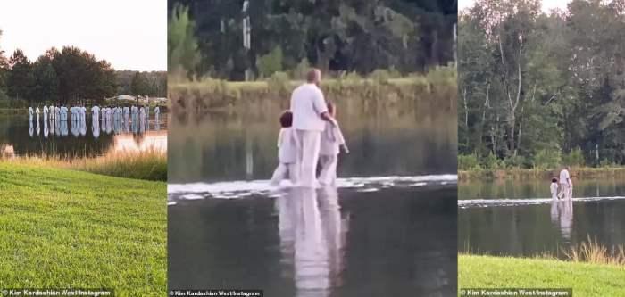 Канье Уэст,молитва,воскресная служба,хождение по воде,