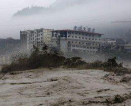Китай,наводнения,
