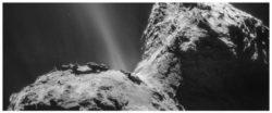 Странное сияющее ультрафиолетовое сияние обнаружено вокруг кометы