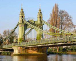 Лондон,мост,Хаммерсмит,