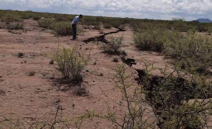 Мексика,пустыня,трещина,