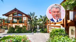 Пирс Броснан продает особняк за 100 миллионов долларов