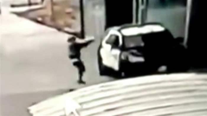 Полиция,Лос-Анджелес,расстрел,