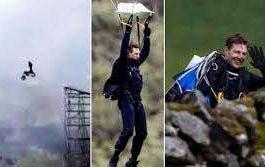 Том Круз,прыжок,мотоцикл,съемки фильма,