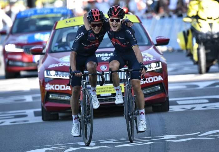 Тур де Франс,финиш,
