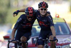 Великолепно: два велосипедиста вместе финишировали в Тур де Франс (ФОТО)