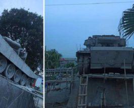 Т-90,памятник,Вьетнам,