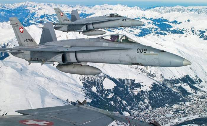 Швейцария,армия,истребители,