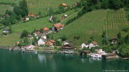 Швейцарская деревня Квинтен