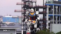 Гигантский робот-гуманоид в Японии научился преклонять колено и двигать пальцами (ВИДЕО)