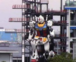 Япония,гуманоид,Gundam,робот,робот-гуманоид,фабрика,