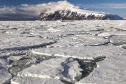Ученые обнаружили 91 вулкан под Антарктидой.